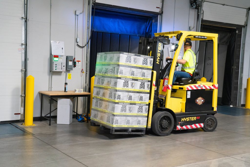 Warehouse associate training