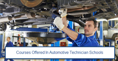 Courses Offered In Automotive Technician Schools