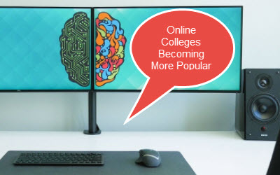 Online Colleges Becoming More Popular