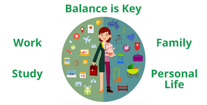 Balance is key - learn how to balance vocational education and parenting