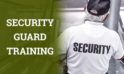 Free Security Guard Training