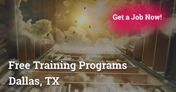Free training programs in Dallas Texas