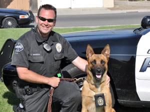K9 Police Officer