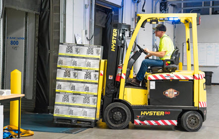 Boston forklift training
