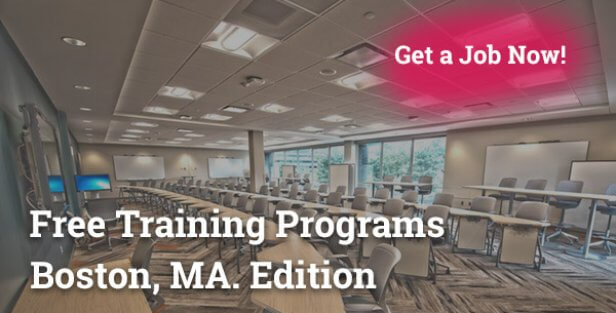 free training programs in Boston MA