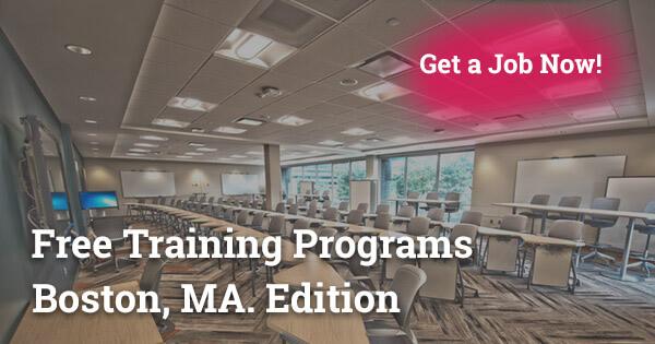 free training programs in Boston MA