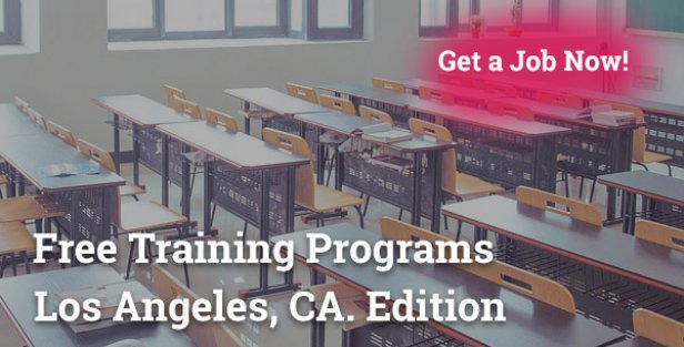 free training programs in Los Angeles CA