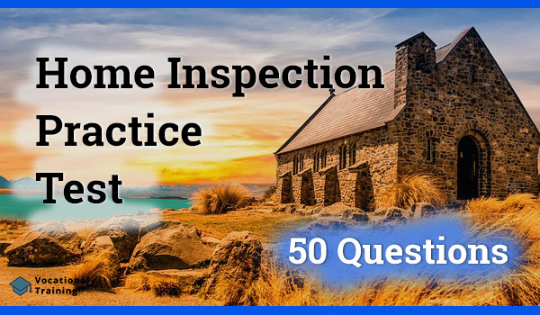 Home Inspection Practice Test