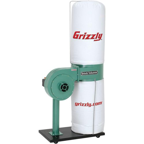 Grizzly G8027 1 HP Dust Collector System