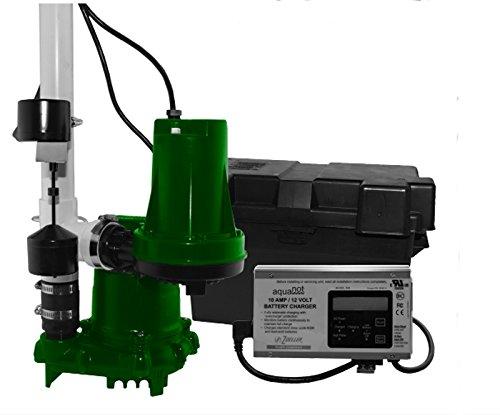 Zoeller Aquanot Preassembled Battery Backup Sump-Pump