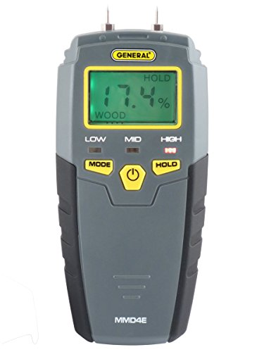 General Tools MMD4E Moisture-Meter for Wood