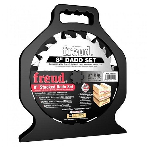 Freud SD208 8-Inch Dado Blade Set