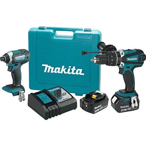 Makita XT263M Lithium-Ion Cordless Combo Kit