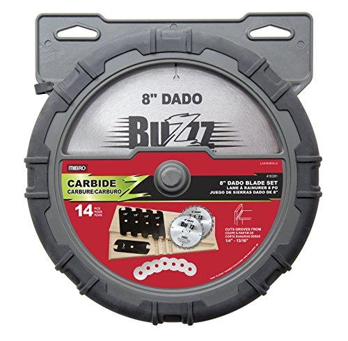 MIBRO 416381 8″ Carbide Dado Blade Set