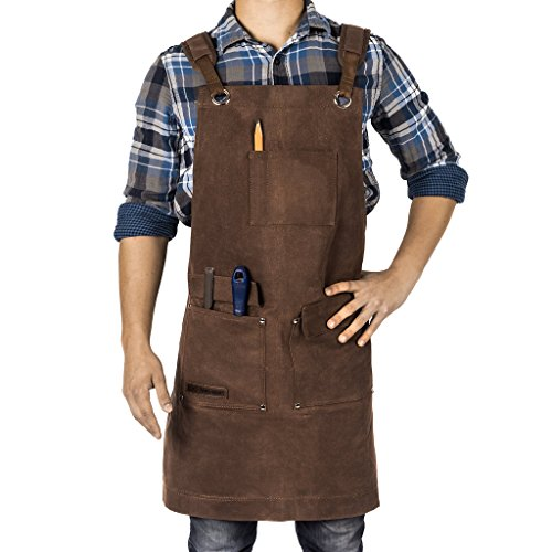 Texas Canvas Wares TCW9001 Apron for Woodworkers