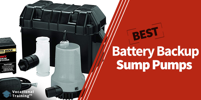 The Best Battery Backup Sump Pumps for 2019