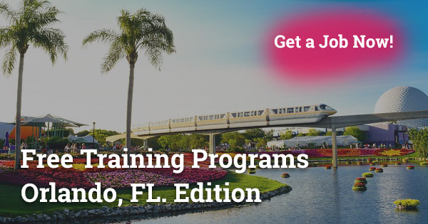 Free Training Programs in Orlando, FL