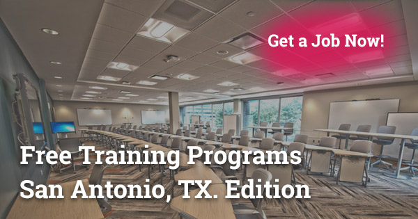Peachy Free Training Programs In San Antonio Tx Get A Job Fast 2019 Home Interior And Landscaping Ponolsignezvosmurscom