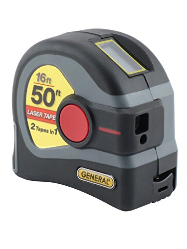 General Tools LTM1 2-in-1 Digital Tape Measurer