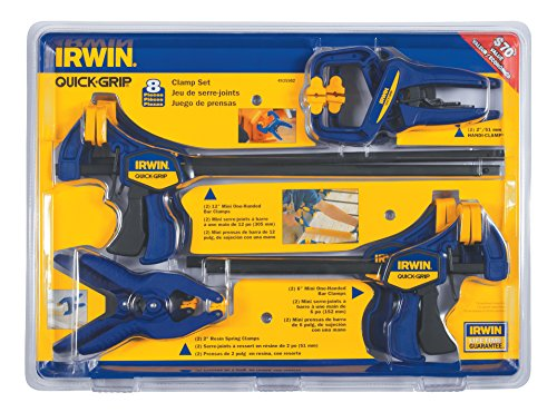 IRWIN Tools Quick-Grip Wood Clamp Set