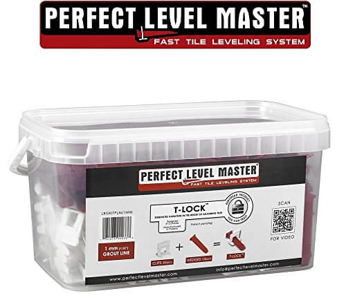 Perfect Level Master 1/32″ T-Lock™ Tile Leveling System