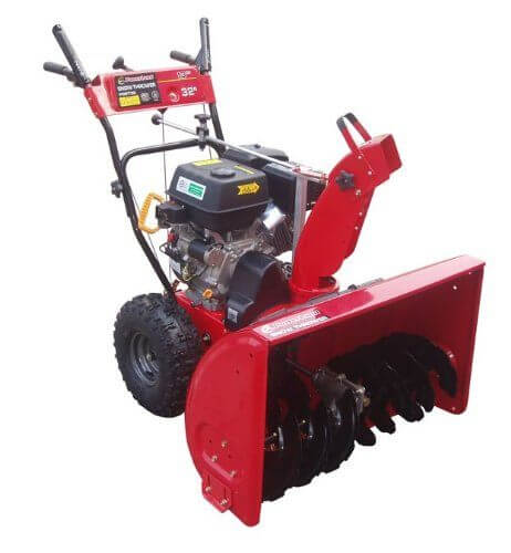 Powerland PDST32 32-Inch 389cc Snow Blowing Machine