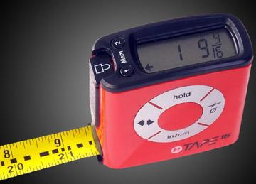 Digital tape measurer