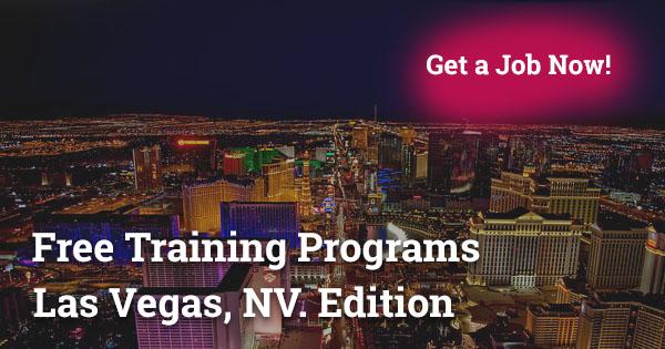 Free Training Programs in Las Vegas