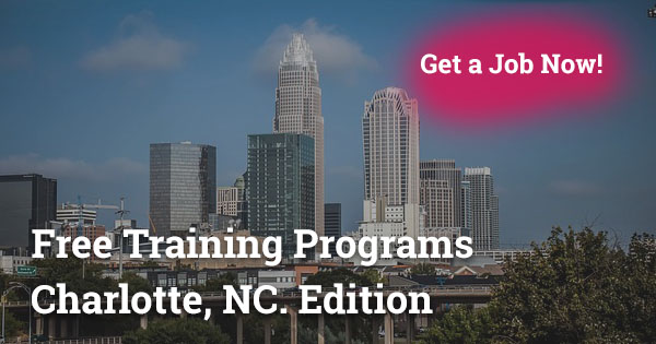 Free Training Programs in Charlotte, NC