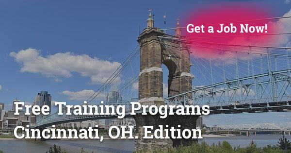 Free Training Programs in Cincinnati