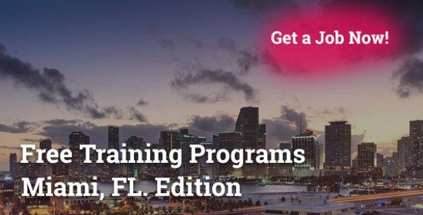 Free Training Programs in Miami FL