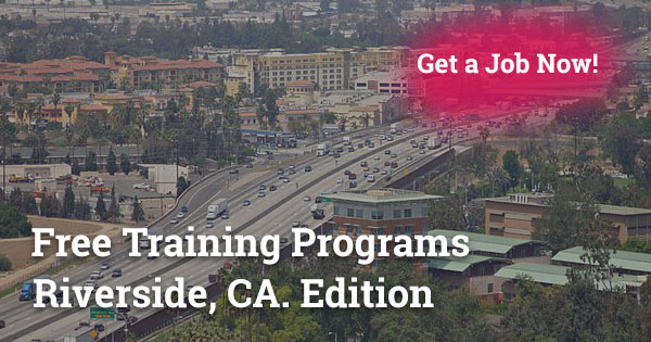 Free Training Programs in Riverside CA