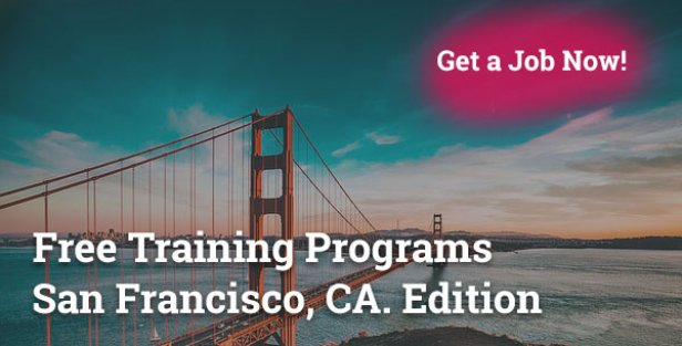Free Training Programs in San Francisco CA