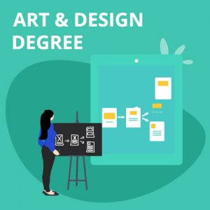Art and design degree