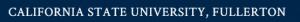 California State University - Fullerton logo
