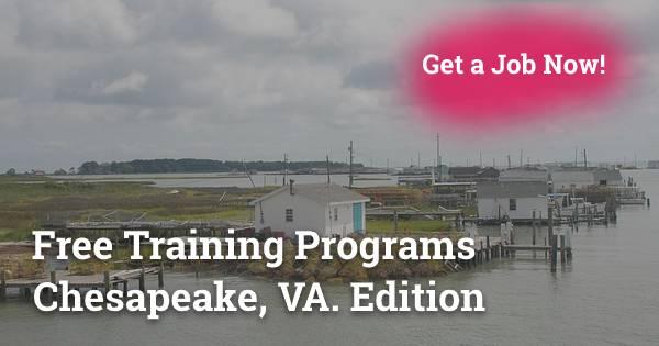 Free Training Programs in Chesapeake, VA