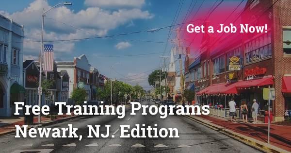 Free Training Programs in Newark, NJ