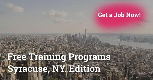 Free Training in Programs in Syracuse, NY