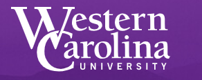 Western Carolina University logo