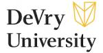 DeVry University logo