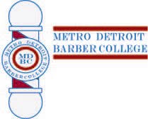 Metro Detroit Barber College logo