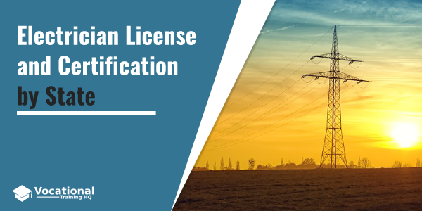 Electrician License and Certification by State