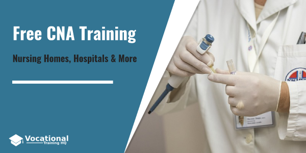 Free CNA Training in Nursing Homes and Hospitals