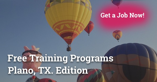 Free Training Programs in Plano, TX