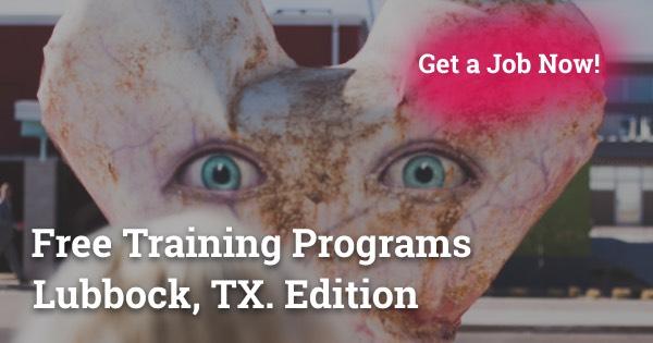 Free Training Programs in Lubbock, TX