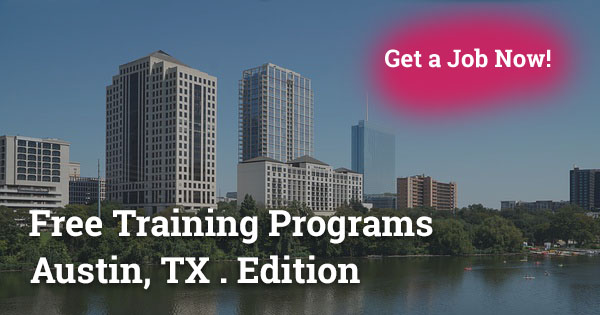 Free Training Programs in Austin, TX
