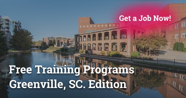 Free Training Programs in Greenville, SC