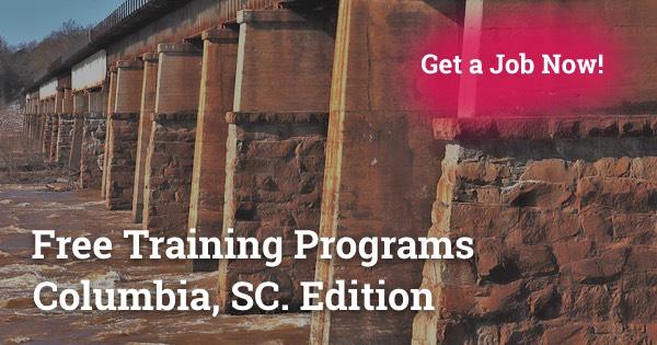 Free Training Programs in Columbia, SC