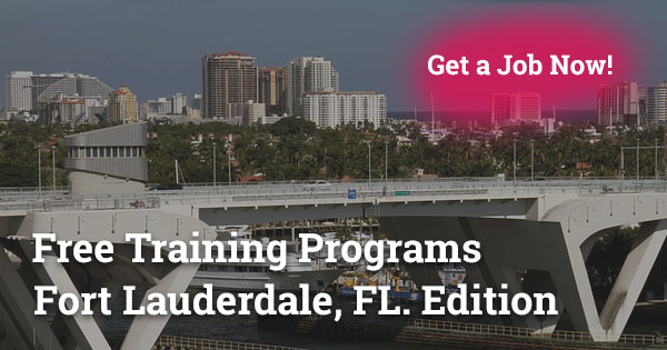 Free Training Programs in Fort Lauderdale, FL