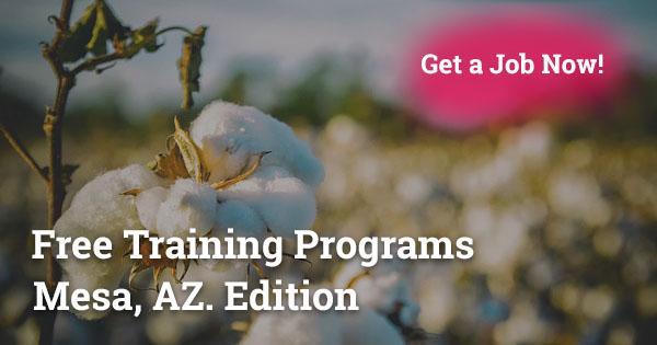 Free Training Programs in Mesa, AZ